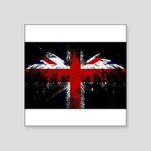 Union Jack Eagle Sticker