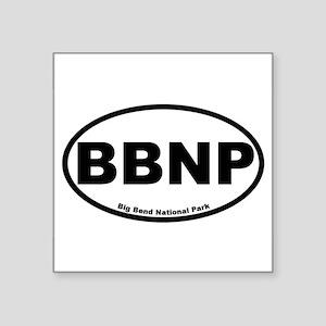 Big Bend National Park Oval Sticker