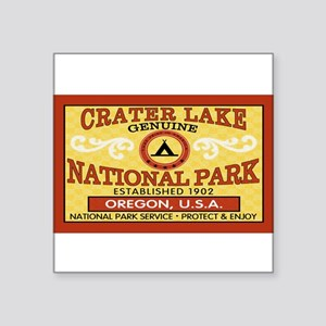 Crater Lake National Park Rectangle Sticker