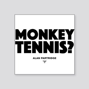 Alan Partridge - Monkey Tennis Sticker