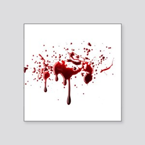 blood spatter 3 Sticker