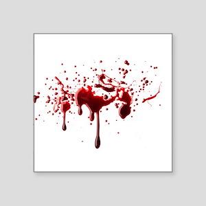 blood spatter 3 Sticker