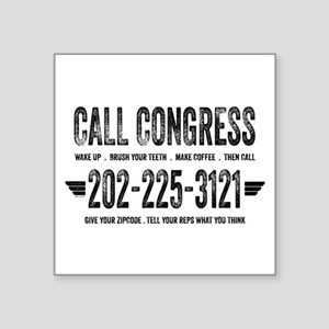 Call Congress Sticker