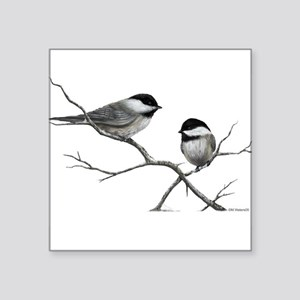 chickadee song bird Sticker