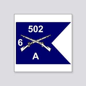 A/6/502 Guidon Sticker