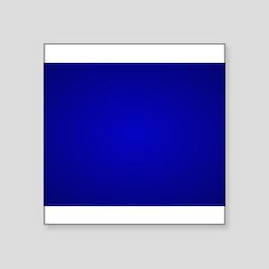 Minimal Art Dark Blue Sticker