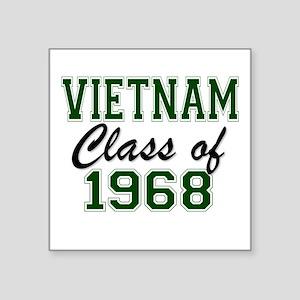 Vietnam Class of 1968 Sticker
