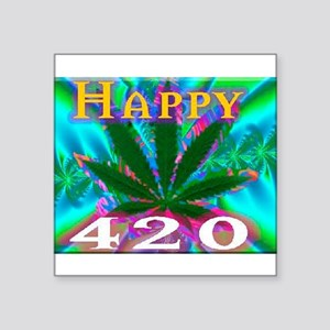 happy 420 Sticker