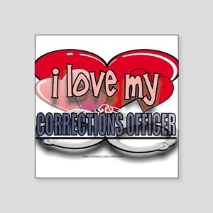"LOVECO Square Sticker 3"" x 3"""