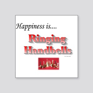 """Happiness Is... Square Sticker 3"""" x 3"""""""
