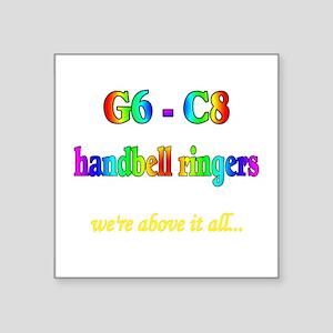 "g6-c8 Square Sticker 3"" x 3"""