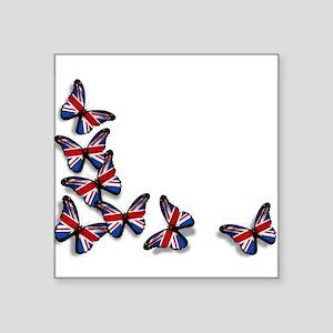 """Butterflies Square Sticker 3"""" x 3"""""""