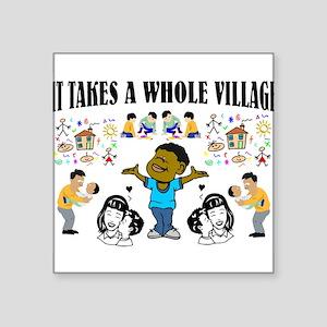 Childrearing Black children Sticker
