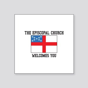 The Episcopal church welcomes you Sticker