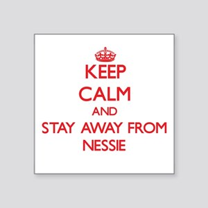 Keep calm and stay away from Nessie Sticker