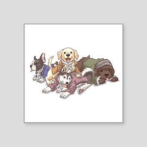 Hamilton Musical x Dogs Sticker