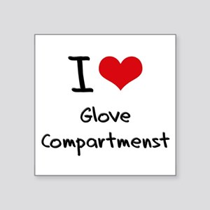 I Love Glove Compartmenst Sticker
