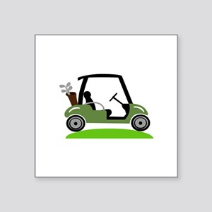 Golf Cart Sticker