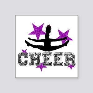 Cheerleader Sticker