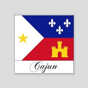Cajun Flag Rectangle Sticker