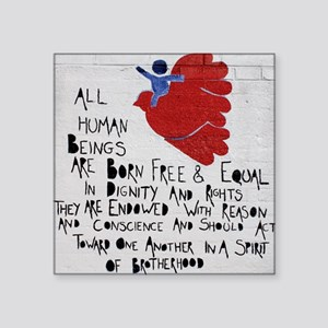 All Human Beings Sticker