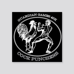 """Guardian Games 40K Cock Punchers Square Sticker 3"""""""