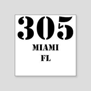 305 Miami FL Sticker