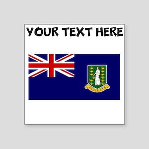 Custom British Virgin Islands Flag Sticker