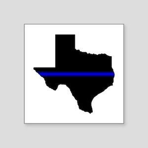 Thin Blue Line (Texas) Sticker