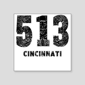 513 Cincinnati Distressed Sticker