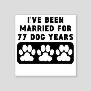 11th Anniversary Dog Years Sticker