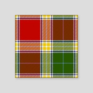 Gibson Scottish Tartan Sticker