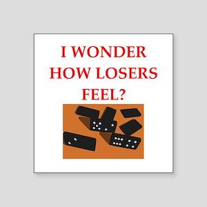 dominoes Sticker