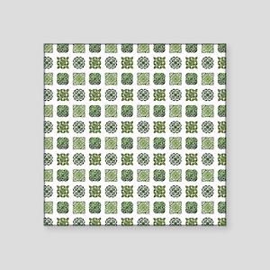 """MOROCCAN TILE Square Sticker 3"""" x 3"""""""