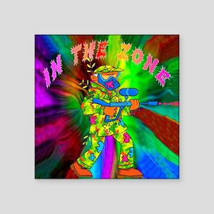 """In the Zone Square Sticker 3"""" x 3"""""""