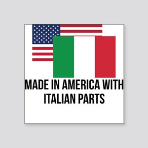 Italian Parts Sticker