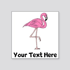Flamingo On One Leg (Custom) Sticker