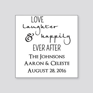 Love Laughter and Happily Ever After Sticker