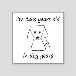 24 Dog Years 6-2 Sticker
