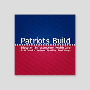 Patriots Build Sticker