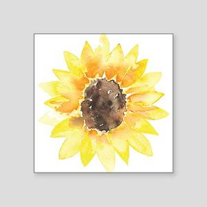Cute Yellow Sunflower Sticker