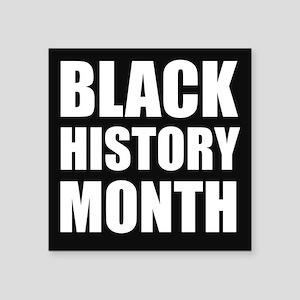 Black History Month Sticker