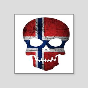 "Norwegian Square Sticker 3"" x 3"""