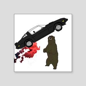 Firebird and Grizzly Bear Sticker