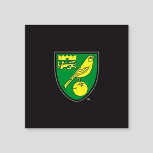 "Norwich City Canaries Square Sticker 3"" x 3"""
