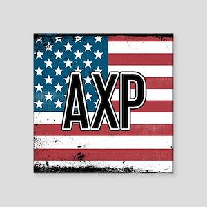 Alpha Chi Rho Flag Sticker