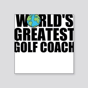 World's Greatest Golf Coach Sticker