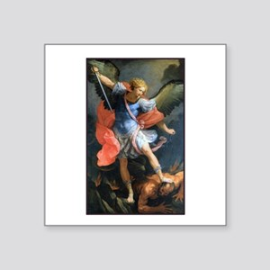 St. Michael the Archangel Rectangle Sticker