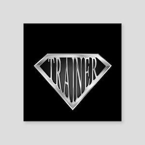 """spr_trainer_cx Square Sticker 3"""" x 3"""""""