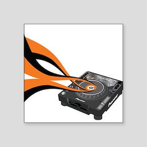 "CDJ-1000 Sounds Square Sticker 3"" x 3"""